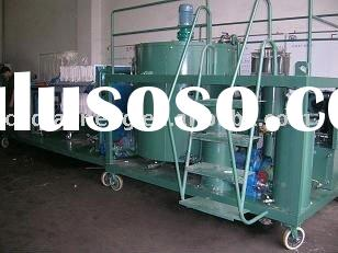 ORS used car oil purifier/oil recycling machine/oil filter plant