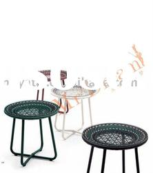 Outdoor furniture, rattan round coffee table CF76-MD9511