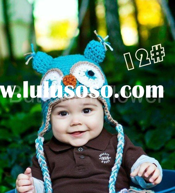 Owl hats cute baby animal hats/caps