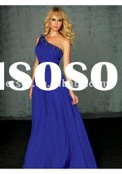 P2431 one-shoulder prom dresses custom-made