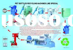 PET plastic bottle recycling machine line special