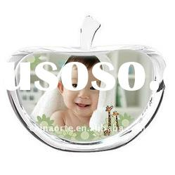 Personalized Crystal Picture Apple For Baby Showers Gifts PG0062-YAB