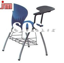 Plastic Commercial Training Chair With Writing Board Office Furniture chairs For Office JM-1075TB