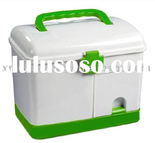 Plastic medical box