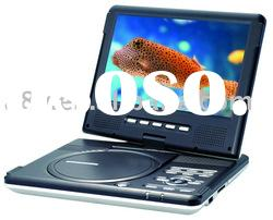 Private design coby DVD player portable (TV/DVD/Radio/Game/USB)