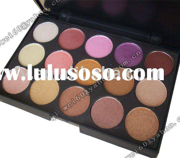 Pro 15 Nude Colors Eye Shadow Makeup Cosmetics Palette