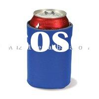 Promotional Coasters & Drink Holders,Can Holder - Folding Can Cooler Sleeve