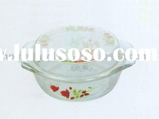 Pyrex Glass Casserole with lid
