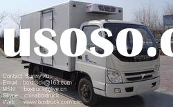 Refrigerated truck, cargo truck, Insulated truck, Van truck, truck body, FOTON refrigerated van