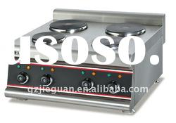 Restaurant Cooker Counter Top Electric Range(Hot Plate) with 4-Burner EH-687