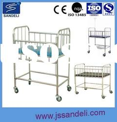 SDL-A0303 stainless steel hospital crib
