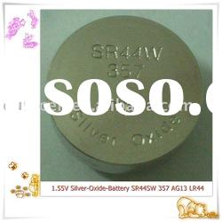SR44SW 357 silver oxide button cell battery watch battery