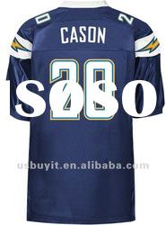 San Diego Chargers football jerseys #20 Antoine Cason Navy Blue Authentic jersey free shipping