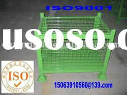 Stacking mesh cage pallet/steel mesh container