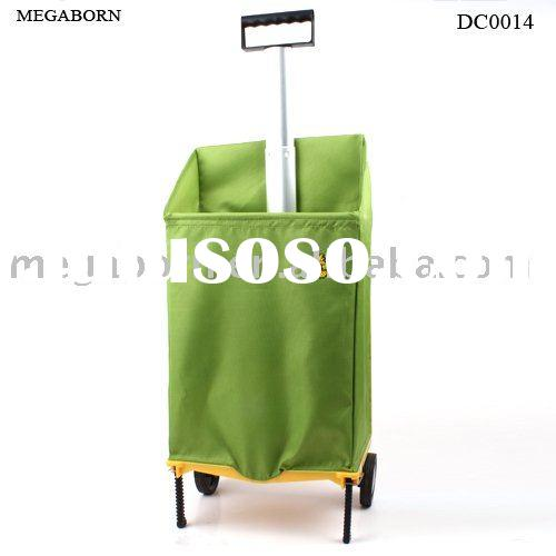 Supermarket Folding Shopping Trolley Cart