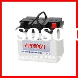 The Most Reliable Dry Charge Starter Lead Acid Battery for Vehicles with JIS Standard 54017 12V40AH