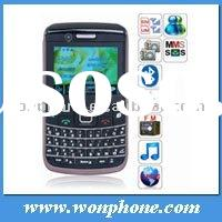 W303 WCDMA 3G TV Wifi Mobile phone Java Qwerty Keyboard Dual Sim card cellphone