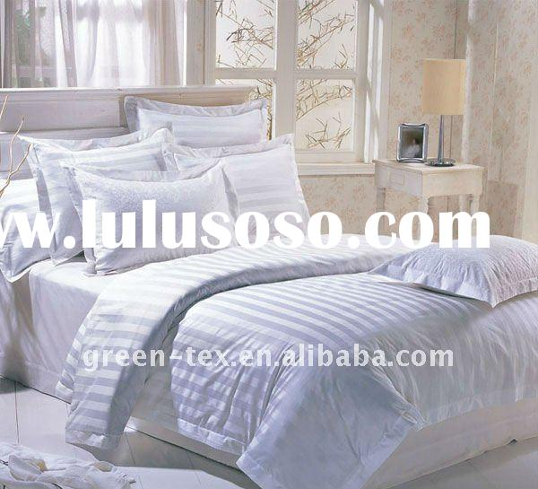 White Cotton Hotel bedding sets and bed sets