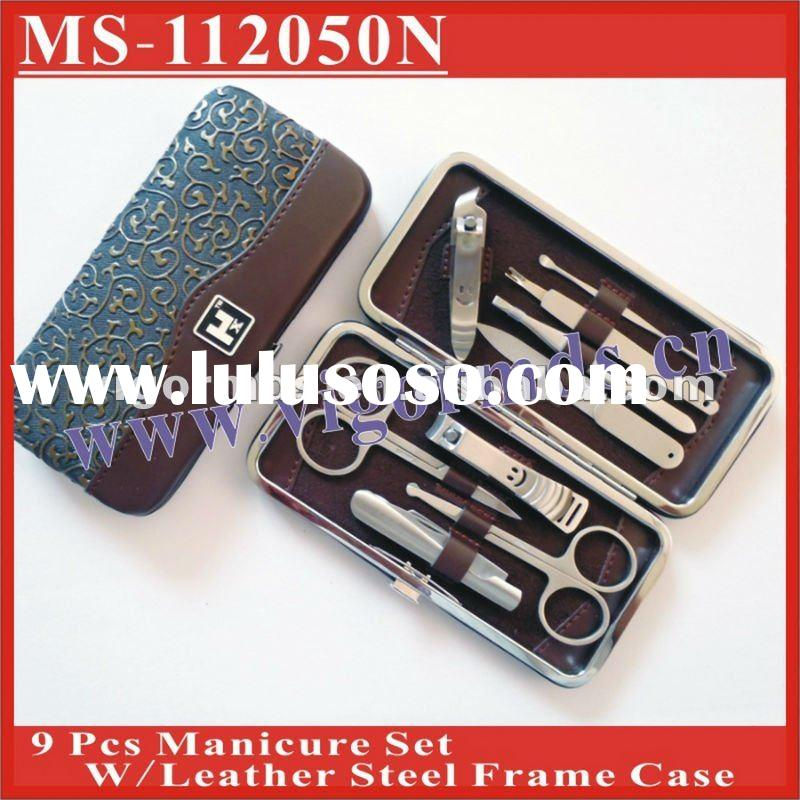 (MS-112050N) Professional Nail Manicure Sets / Beauty Care Tool Kit