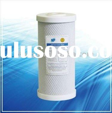 activated carbon block CTO filter cartridge