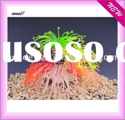 artificial aquarium soft move coral ornament