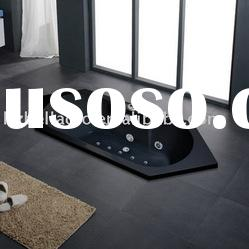 black bathtub ,massage bathtub,whirlpool bathtub