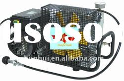 high pressure portable air compressor for breathing air