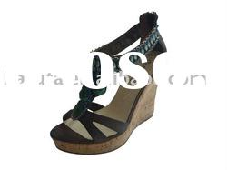 ladies fashion sandal high heel shoe, exquisite woman shoe