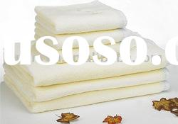organic terry cotton towel set / natural health without harmful chemicals