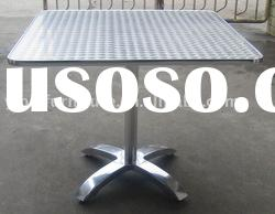 outdoor furniture stainless steel table high quality