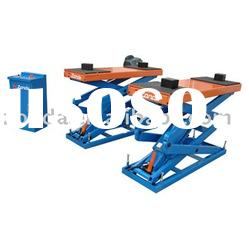 scissor car lift, auto repair equipment, auto lift