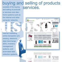 selling of products or services website design and software development