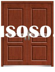 steel wooden armored door,double-leaf steel wooden armored door