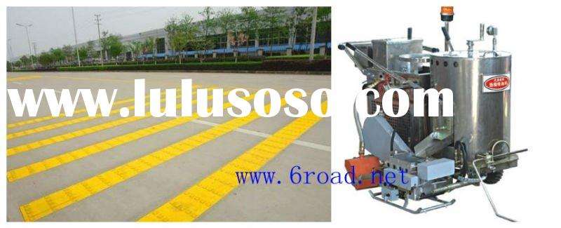 thermoplastic speed bump road line marking machine