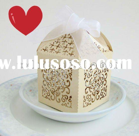 wedding favor boxes for candy chocolate gift