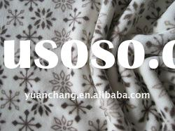 100% polyester printed flannel fabric,luxury plush fabric