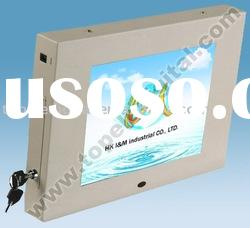 "10"" shopping trolly advertising monitor for shopping mall/department store"
