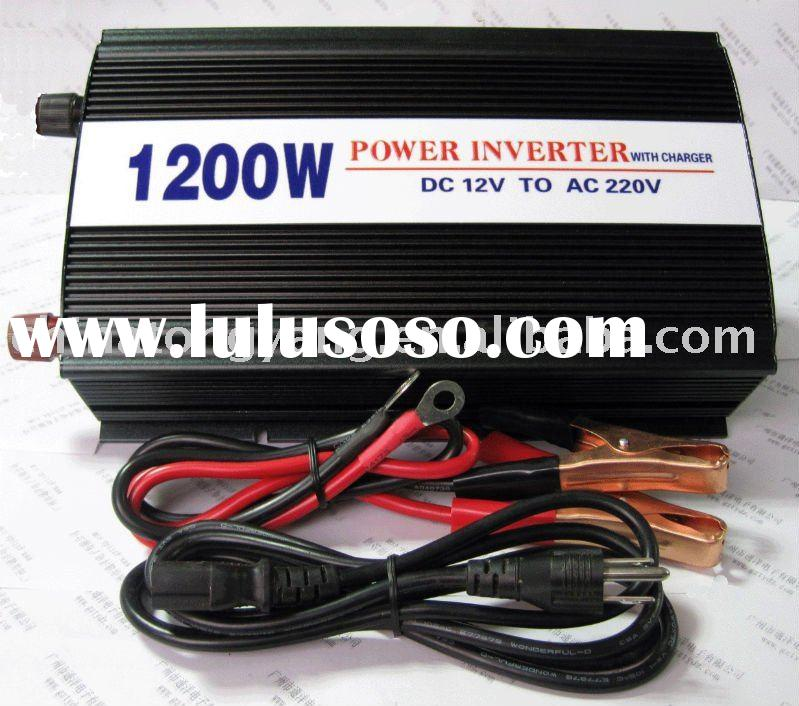 1200W power inverter with charger