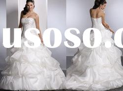 2010 New Style A-line Hot Sell Gorgeous Bridal Wedding Dresses WD-0205