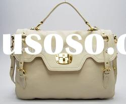 2010 brand name leather handbags for office ladies
