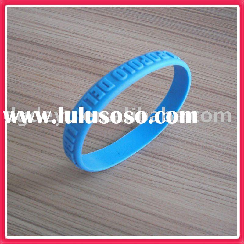 2011 hot sale silicone wristbands for gift/Sports souvenirs (high quality)
