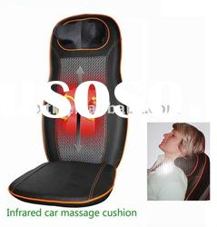 2011 popular electric chair massage cushion_chair massage mat with infrared heating function