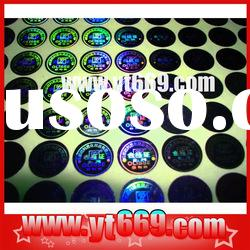 2D/3D hologram security sticker/holographic hologram card /hologram printing/ hologram 3d