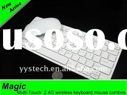 2.4Ghz wireless mini keyboard and mouse for laptop