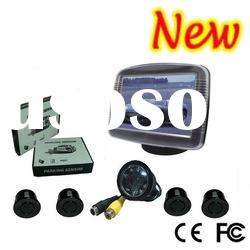 "3.5"" TFT Monitor car reversing aid Video Parking Sensor With Camera"