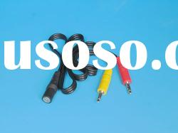 3.5mm stereo/M and 3.5mm mono/M- 3.5mm headphone jack/F Audio Cable