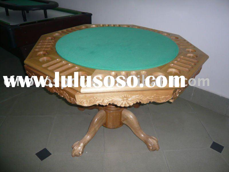 3 in 1 poker table,bumper pool table, dinning table