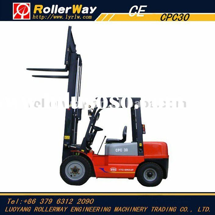 3 ton diesel engine forklift truck CPC30 for sale