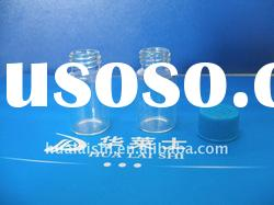 4ml pharmaceutical screw top glass bottle with plastic cap