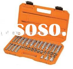 56pcs Power Bit & Star Socket Set,Hand Tools